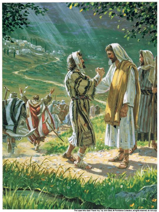 The Ten Lepers by John Steel.