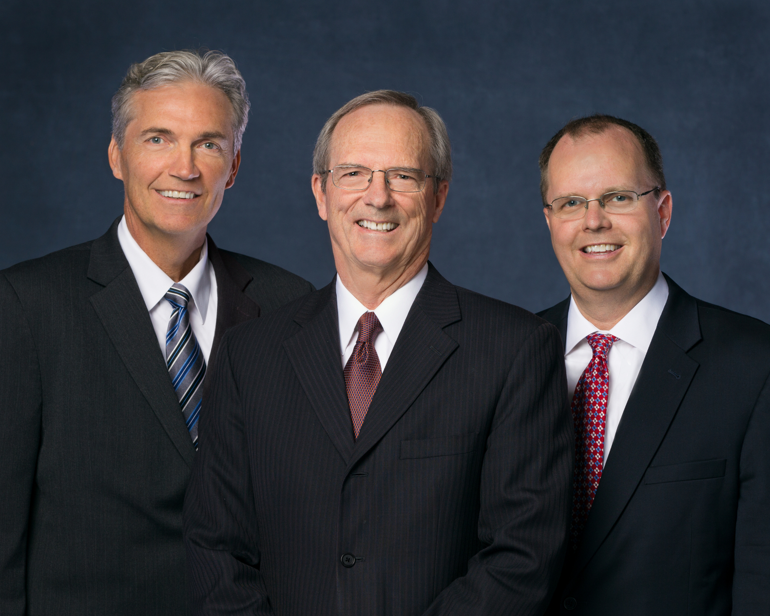 Brother Tad R. Callister, president, center, with Brother Devin G. Durrant, first counselor, left, and Brother Brian K. Ashton, second counselor, right. These men served together as the Sunday School general presidency until their release in April 2019.