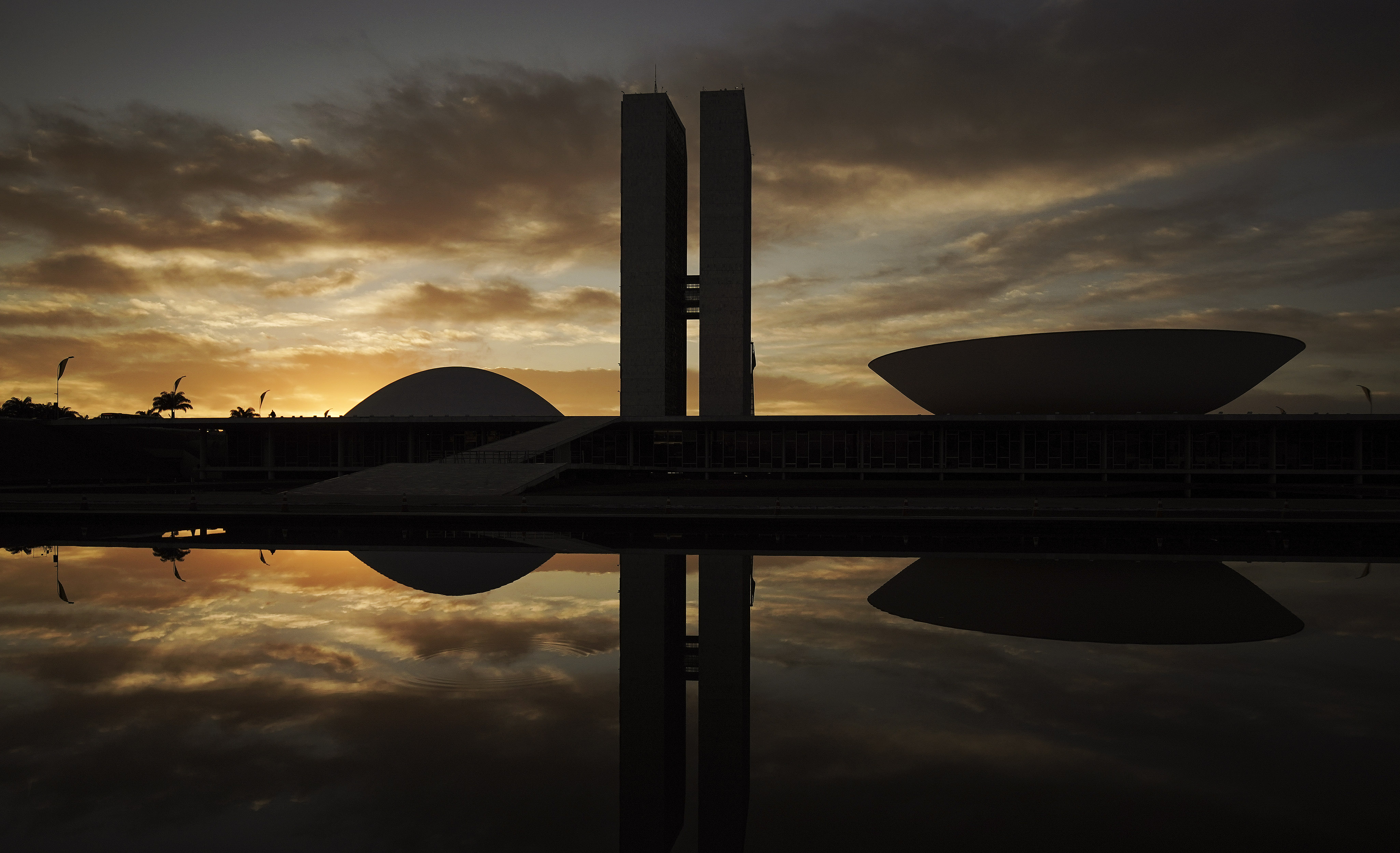 The National Congress of Brazil in Brasilia, Brazil, is pictured on Friday, Aug. 30, 2019.