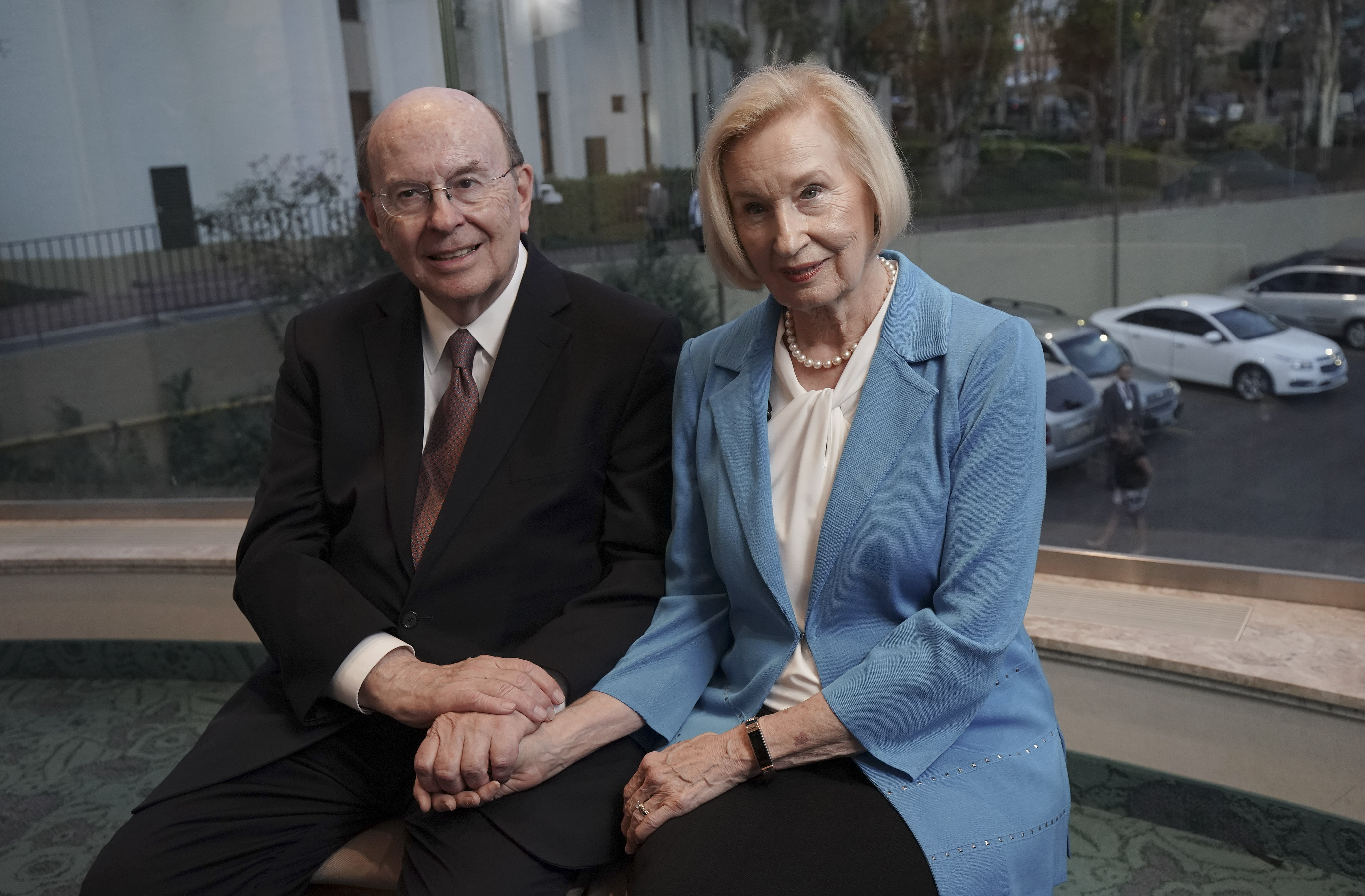 Elder Quentin L. Cook of the Quorum of the Twelve Apostles and his wife, Sister Mary Cook, are interviewed in Sao Paulo, Brazil, on Aug. 31, 2019.