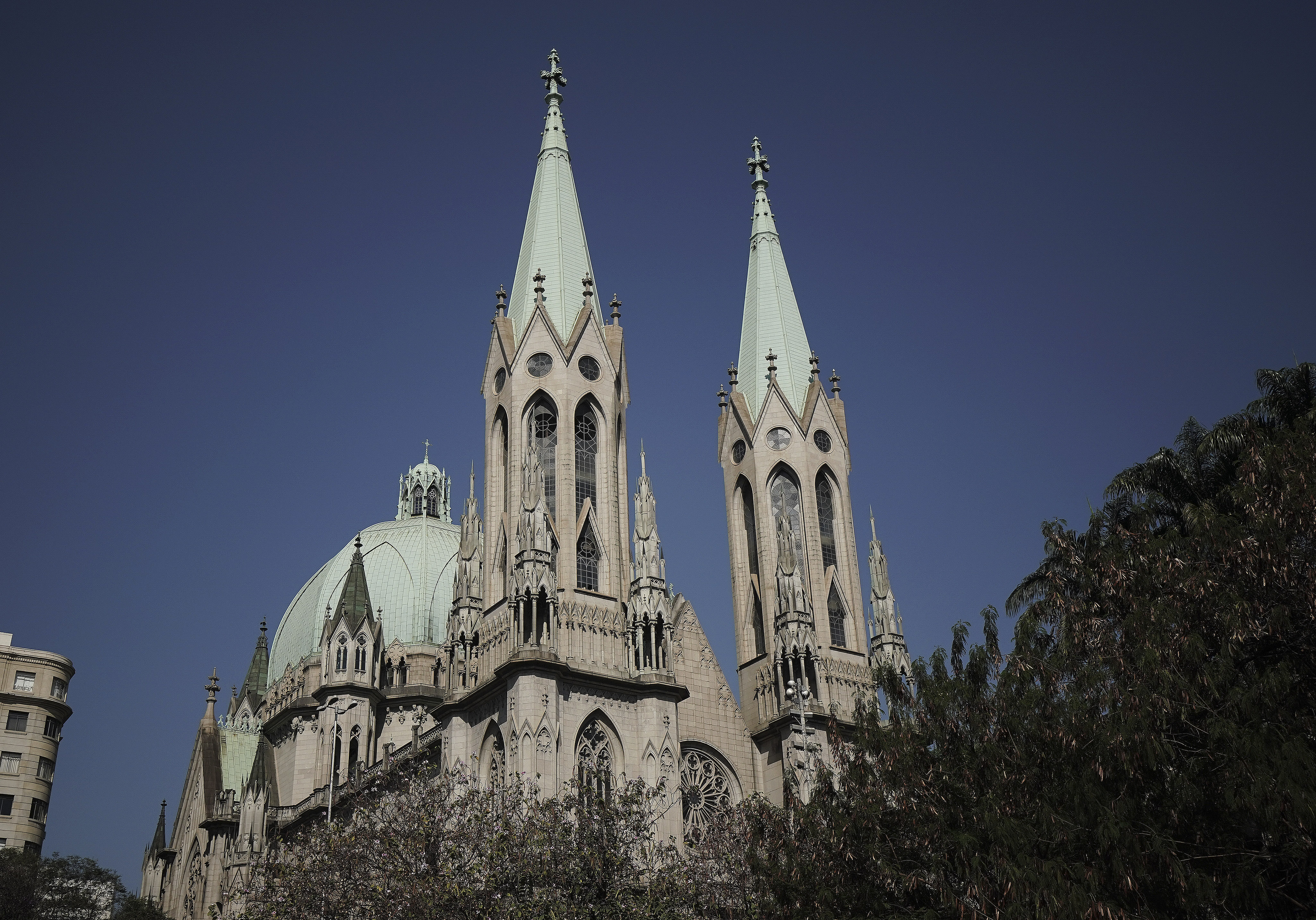 Cathedral in Sao Paulo, Brazil, on Aug. 31, 2019.