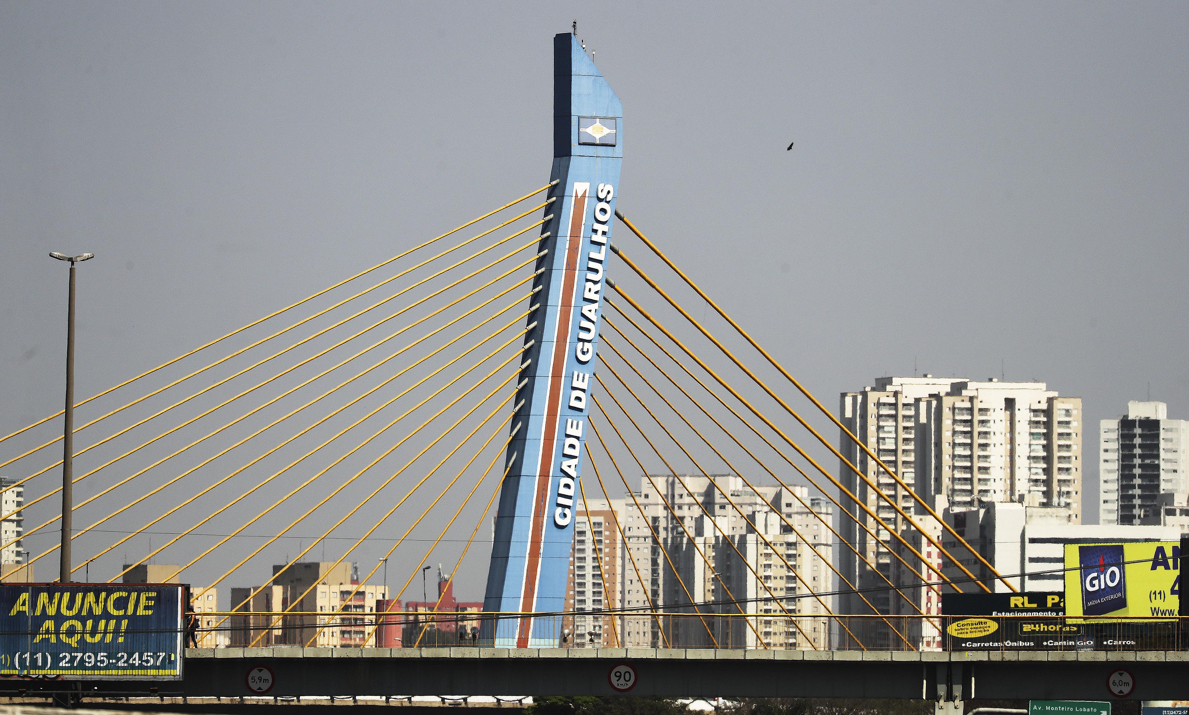 A view of Sao Paulo, Brazil, on Aug. 31, 2019.