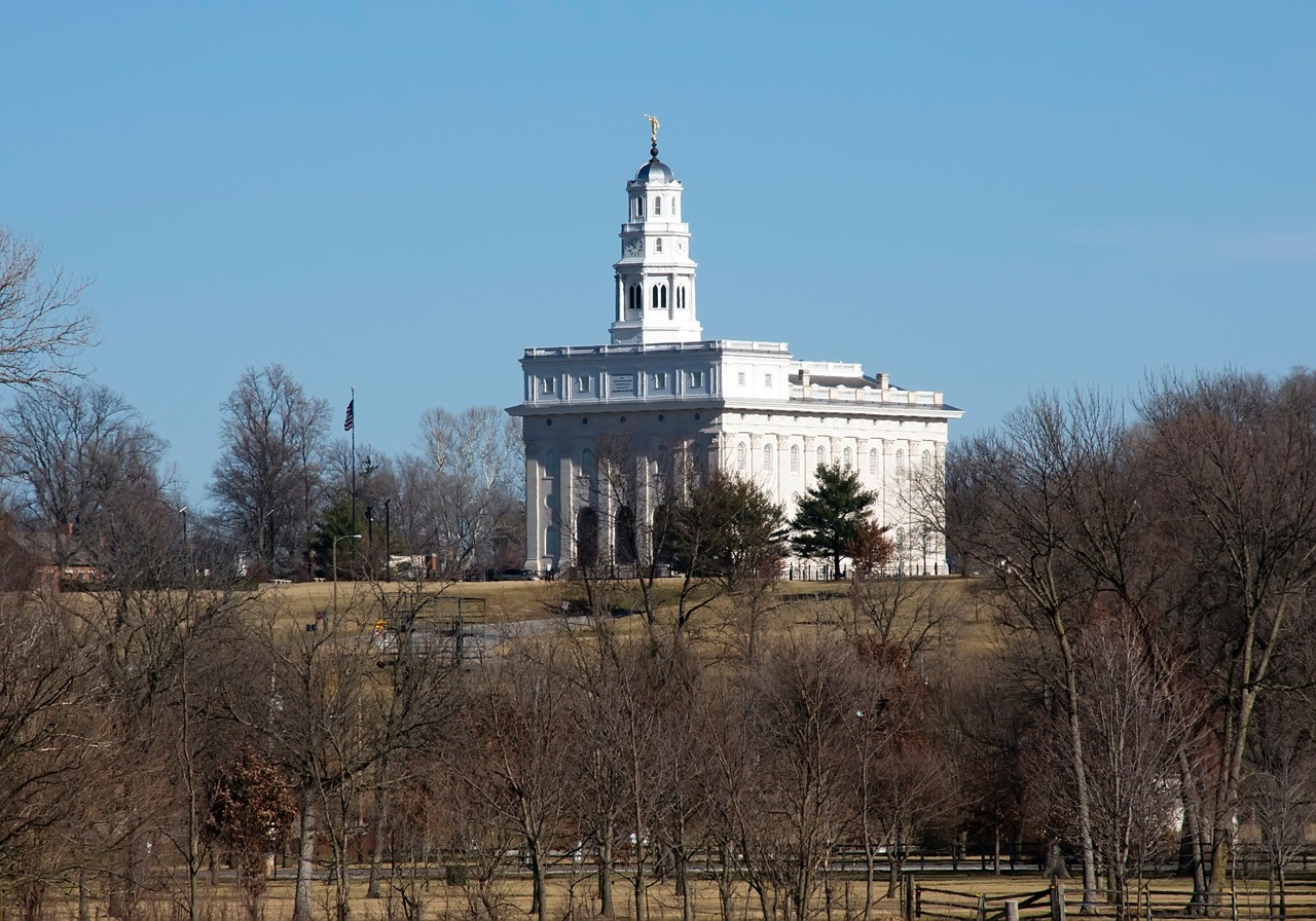 View of the Nauvoo Temple.