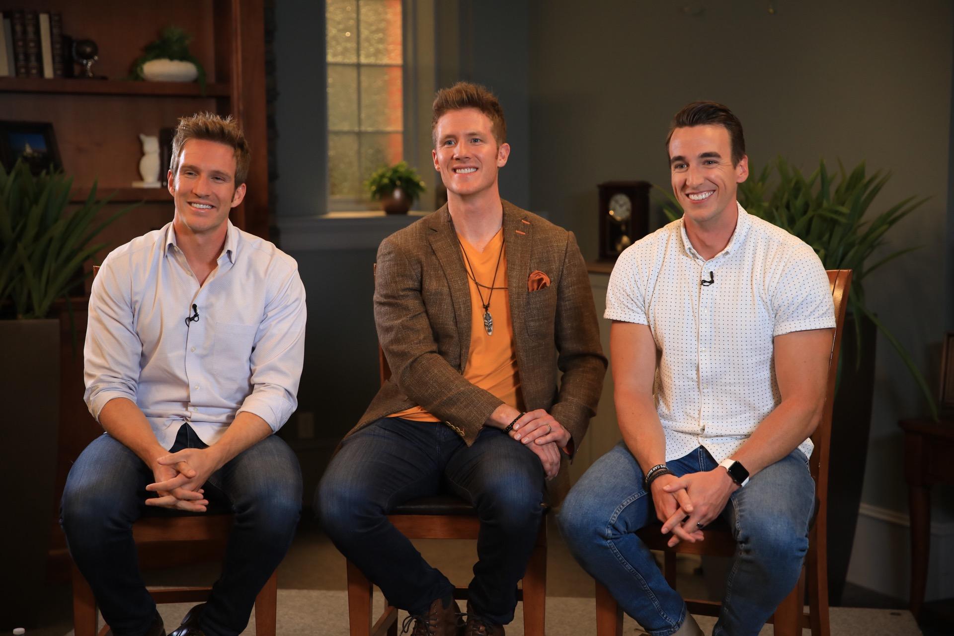 GENTRI, The Gentlemen Trio comprises three tenors: Bradley Quinn Lever, Casey Elliott and Brad Robins.