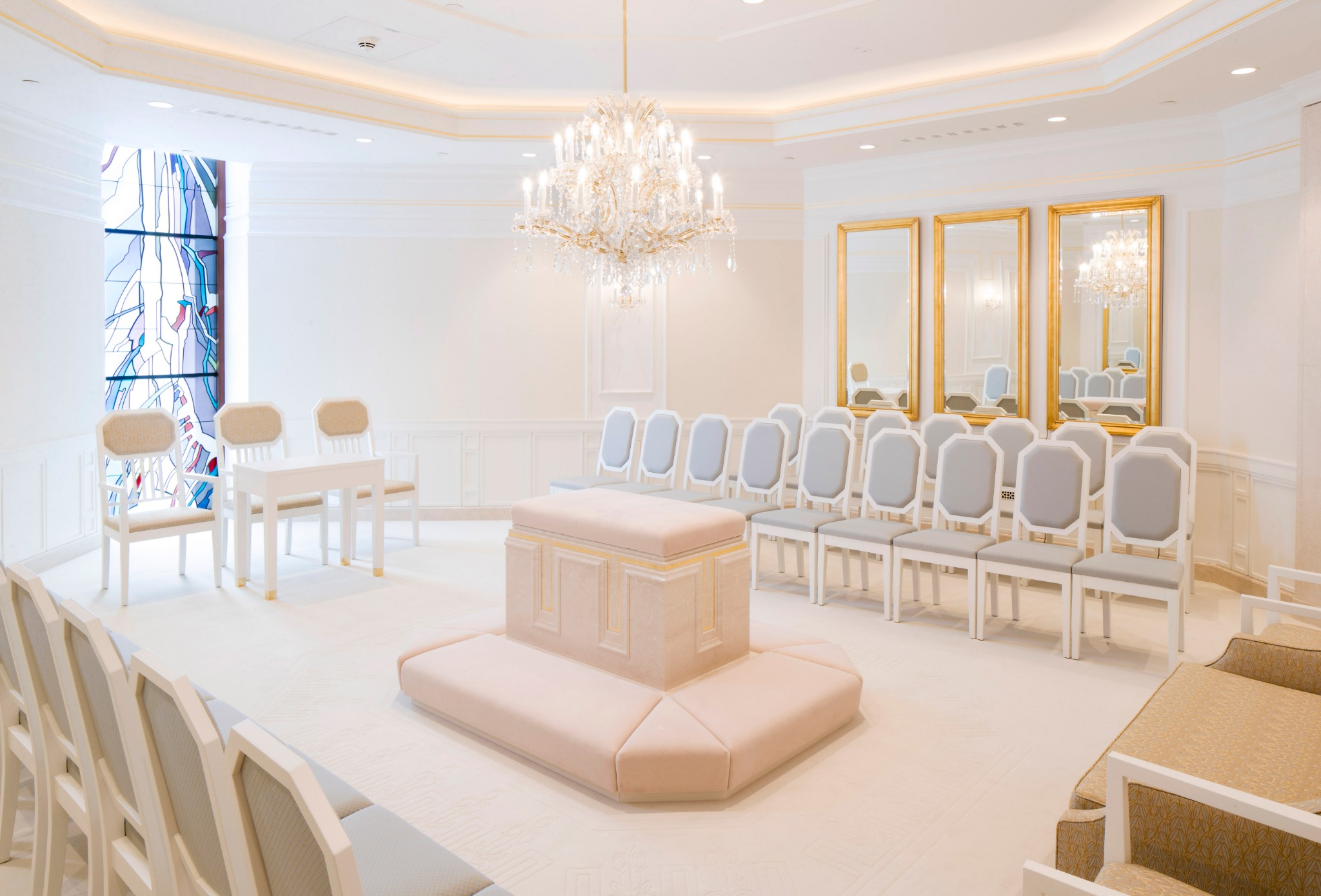 A sealing room in the Frankfurt Germany Temple.