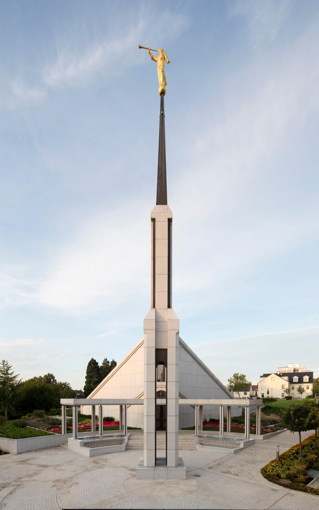 The Frankfurt Germany Temple.