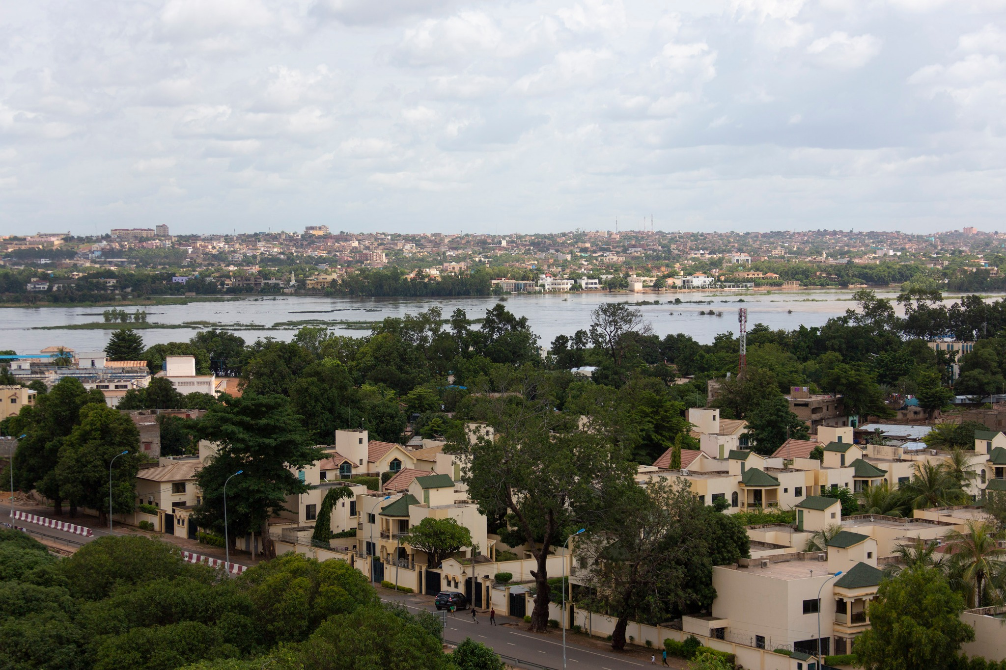 A view of the West African nation in the capital city of Bamako, Mali.