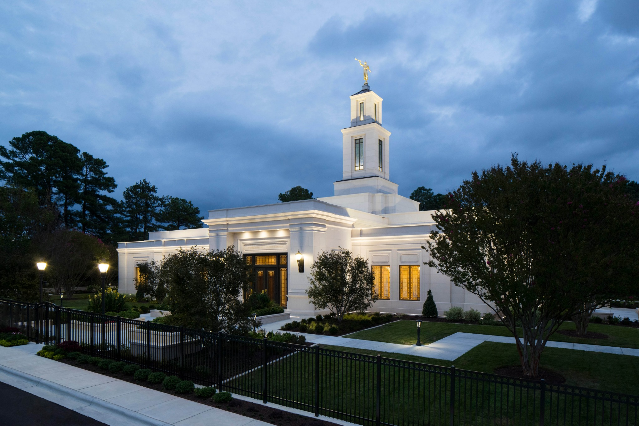 The Raleigh North Carolina Temple.