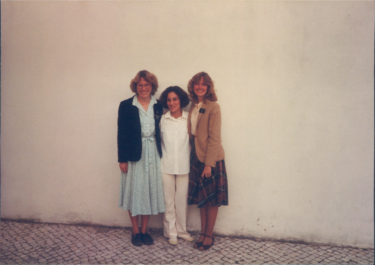 Sister Bonnie H. Cordon, right, served in the Portugal Lisbon Mission from 1982-1984.