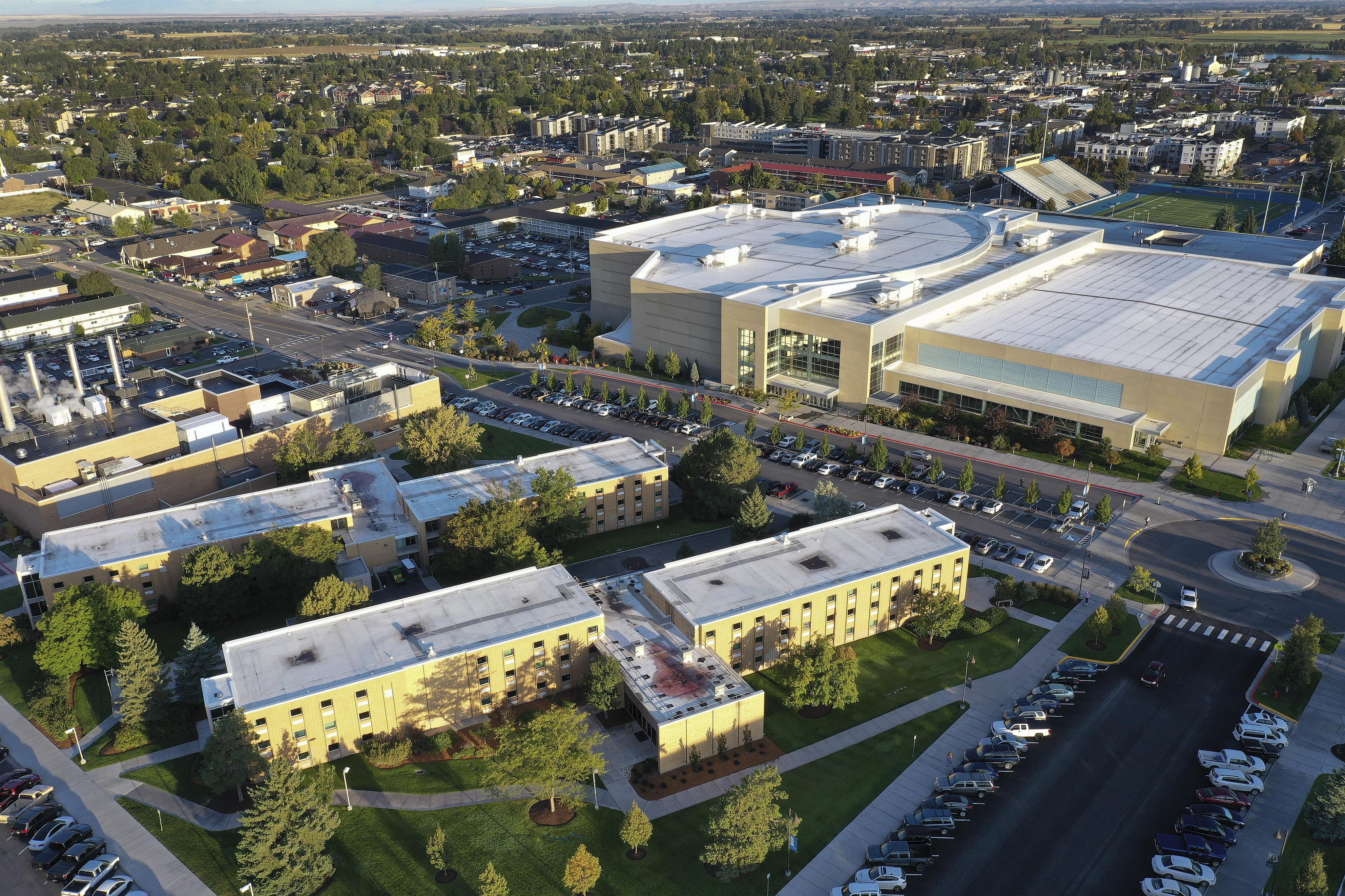 BYU Idaho campus in Rexburg on Monday, Sept. 23, 2019.