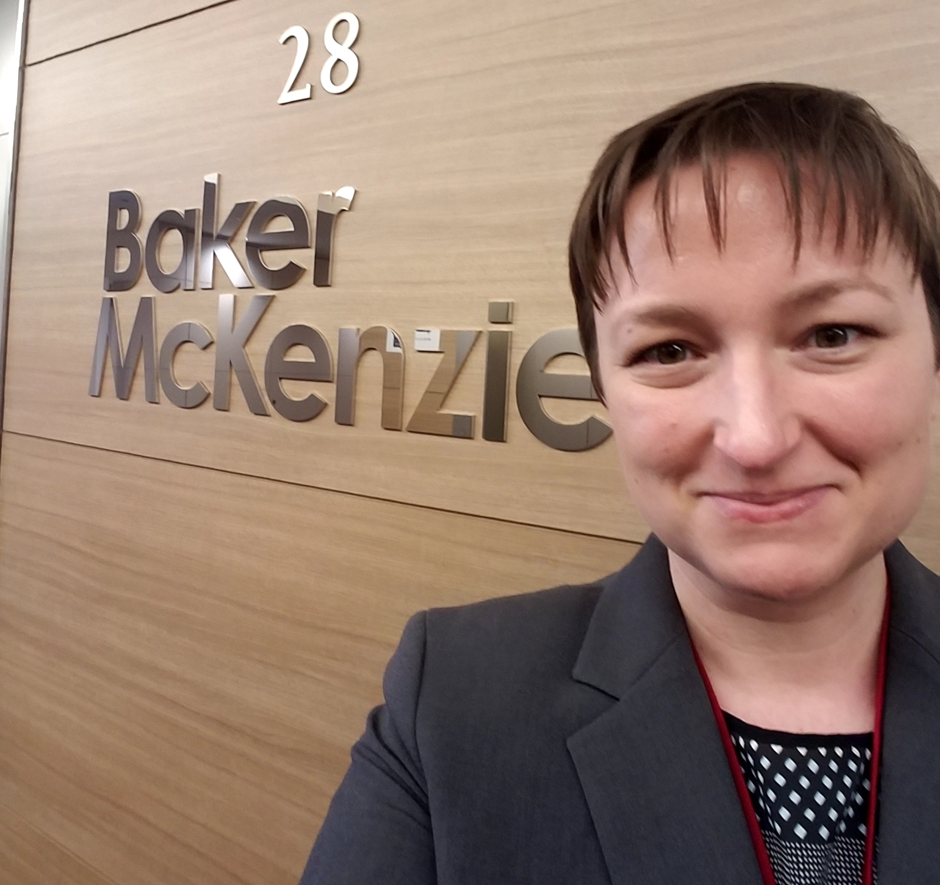 BYU Law student Annemarie Garrett worked as a summer associate at Tokyo's Baker McKenzie law firm. She has accepted a position at Utah Kirton McConkie following graduation from BYU Law School.