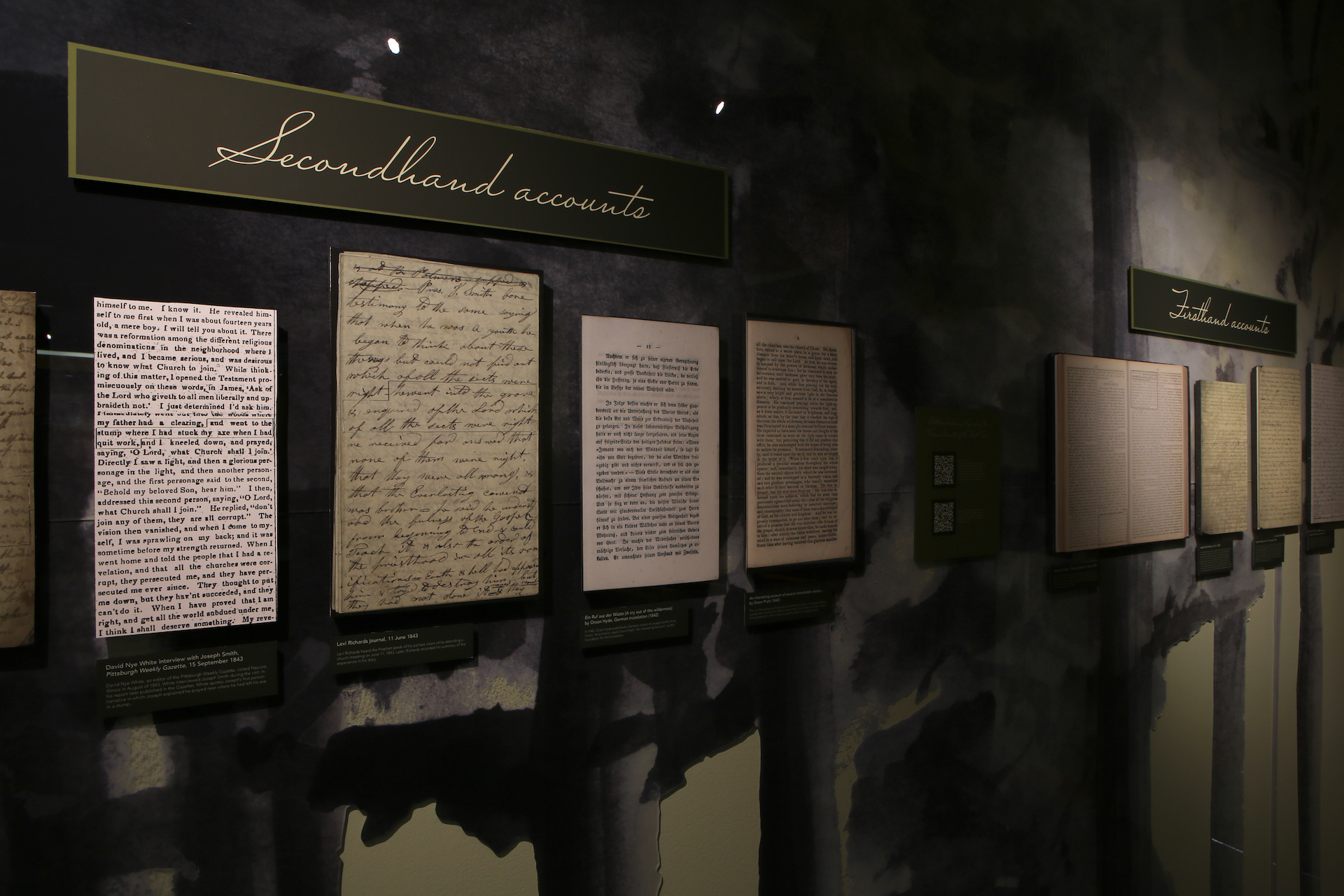 """All nine accounts of the First Vision are included in BYU exhibition """"A Pillar of Light."""""""
