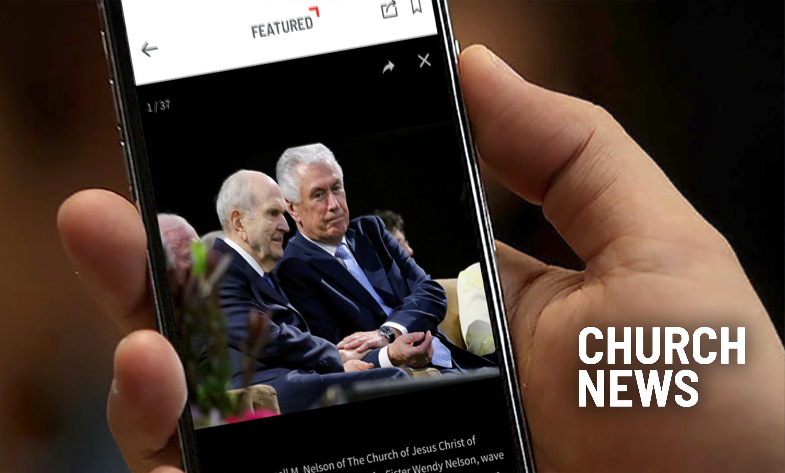 An image of the Church News app.