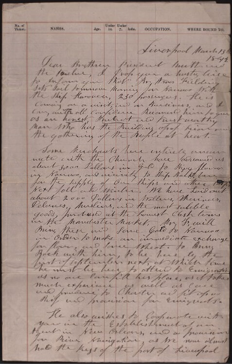 "A letter written by Parley P. Pratt from his mission in England to Joseph Smith is one of the featured documents in the newest Joseph Smith Papers volume, ""Documents, Vol. 9."""