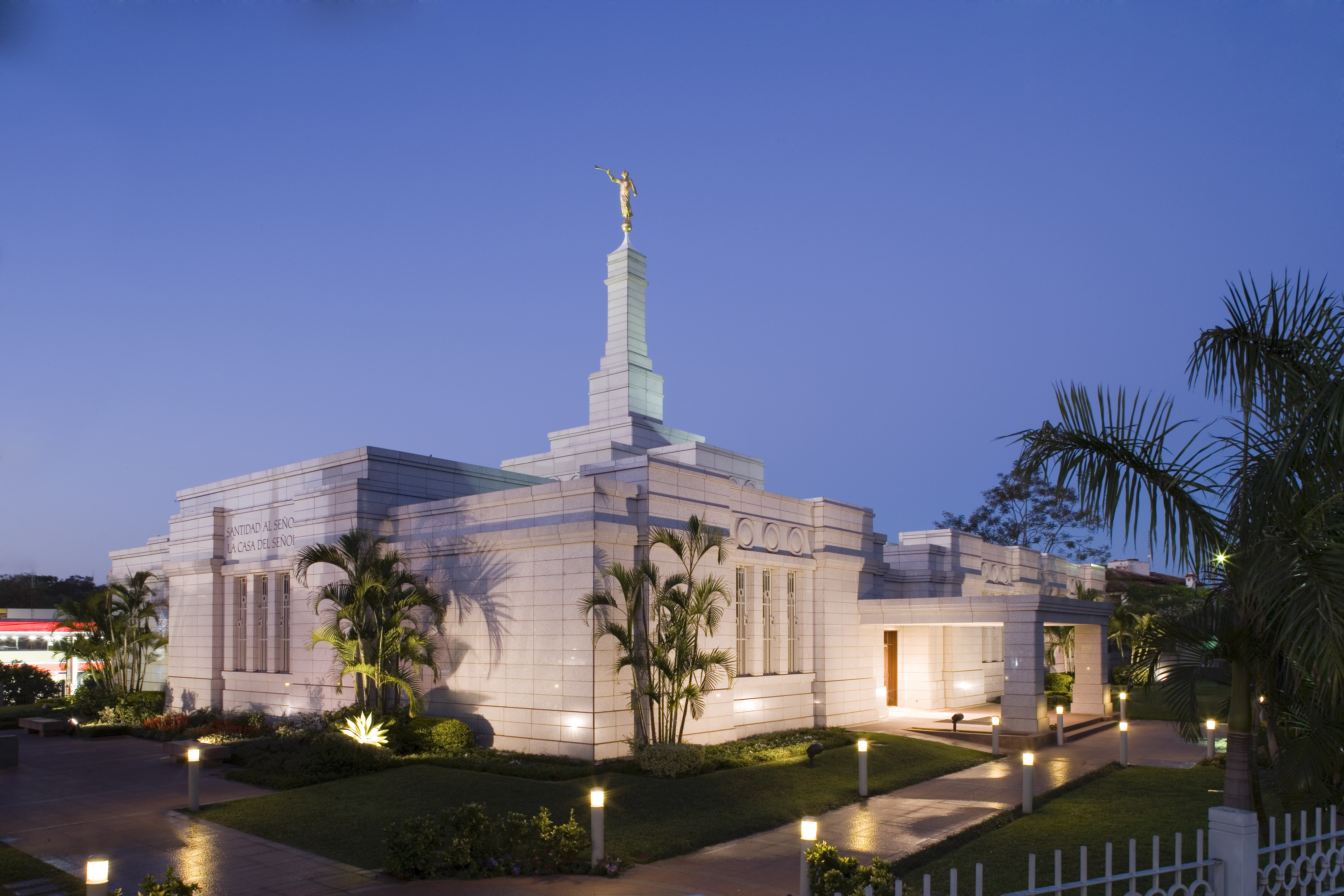 The Asuncion Paraguay Temple will be rededicated November 3, 2019.