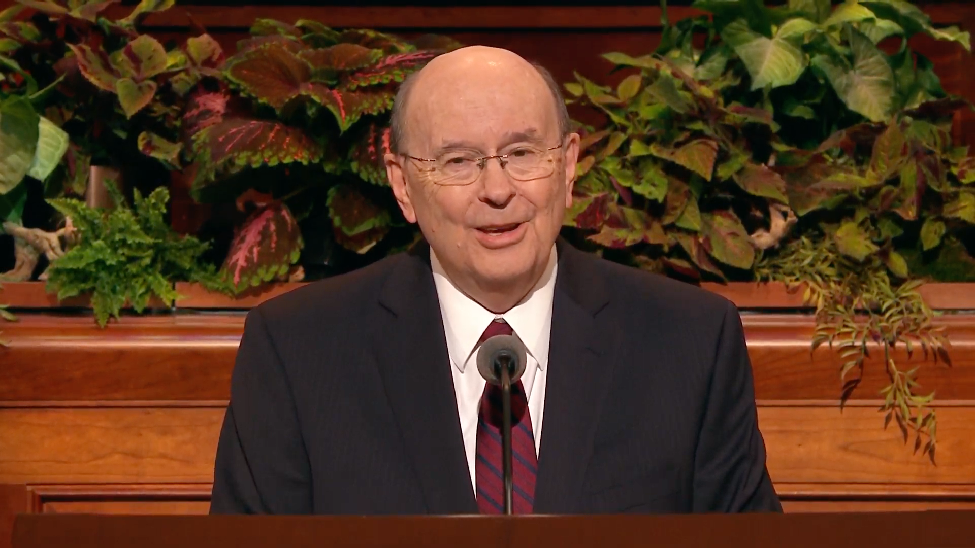 Elder Quentin L. Cook of the Quorum of the Twelve Apostles speaks during the Saturday afternoon session in the 189th Semiannual General Conference of the Church on Oct. 5, 2019.