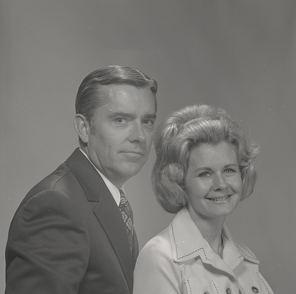 M. Russell Ballard is pictured with his wife, Barbara B. Ballard. They are the parents of two sons and five daughters.