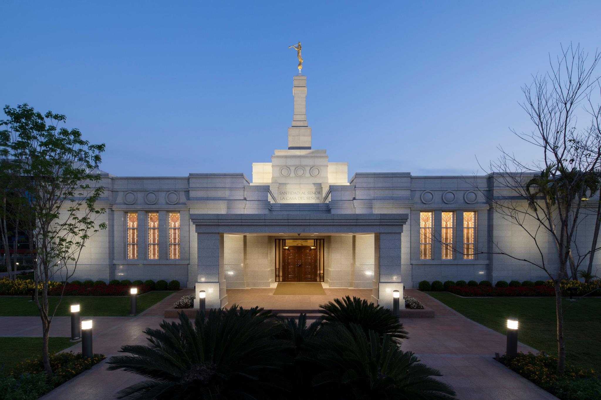 The Asunción Paraguay Temple.
