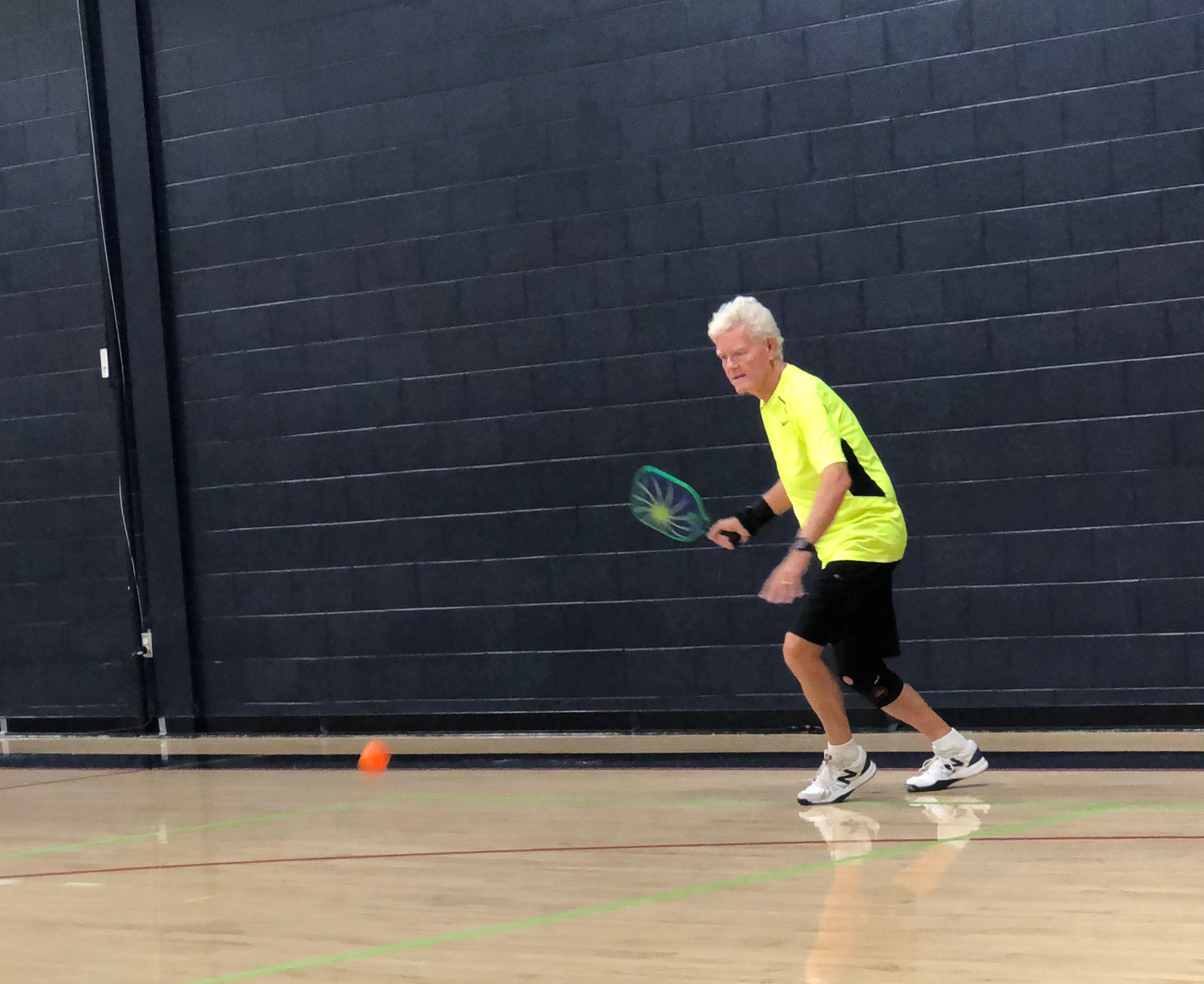 """Dick Johnson has earned the title of """"Pickleball Rocks Player of the Year."""""""