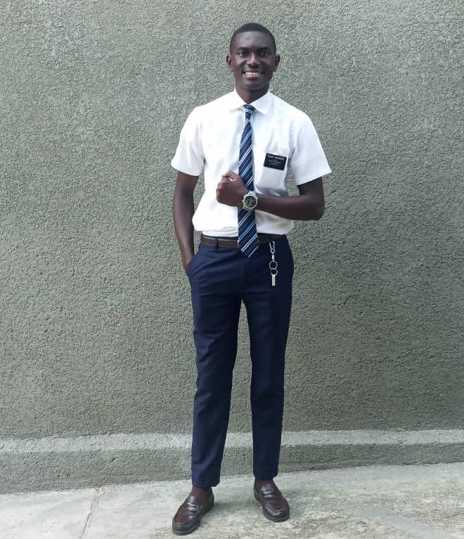 Elder Hermann Mwanken, 21, died on Oct. 21, 2019, while serving in the Democratic Republic of the Congo Mbuji-Mayi Mission. He is being remembered for his friendly personality and skill on the soccer pitch.