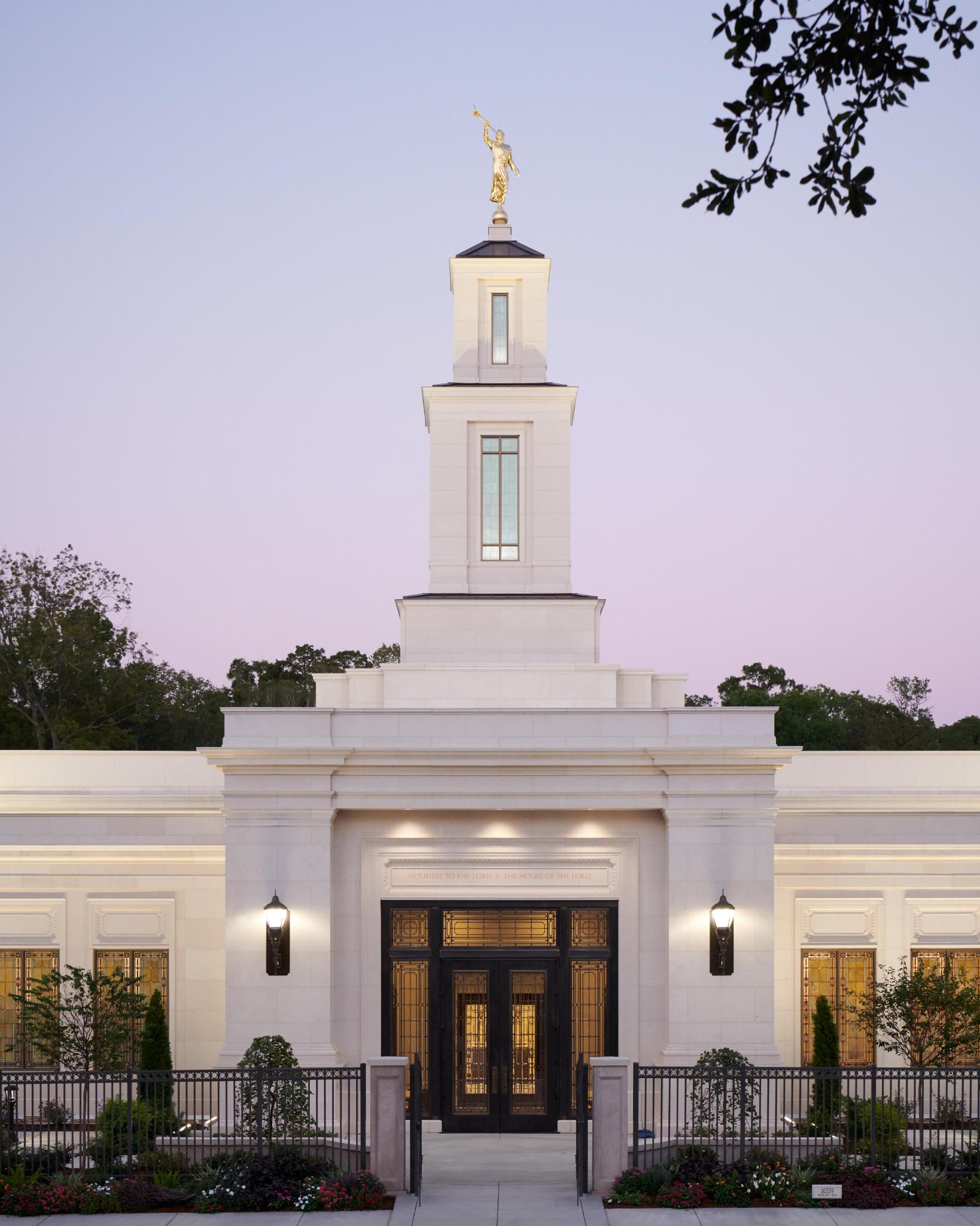 The Baton Rouge Louisiana Temple.