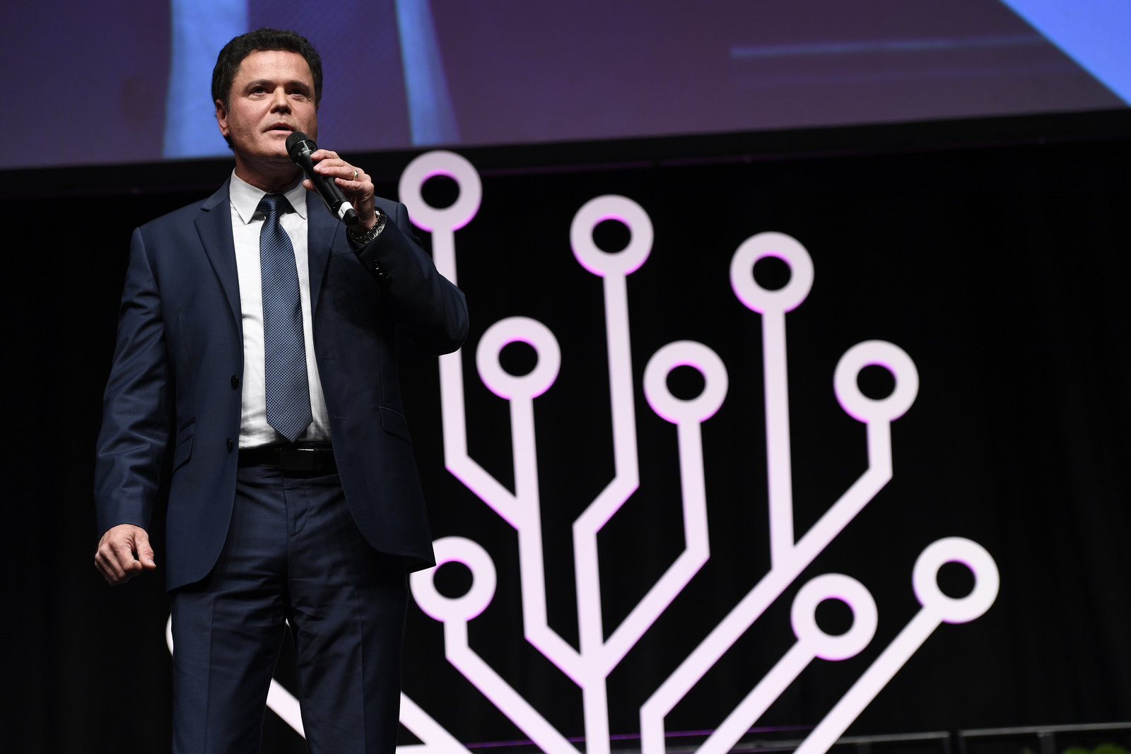 Donny Osmond discusses his personal journey of family discovery during a session at RootsTech London.
