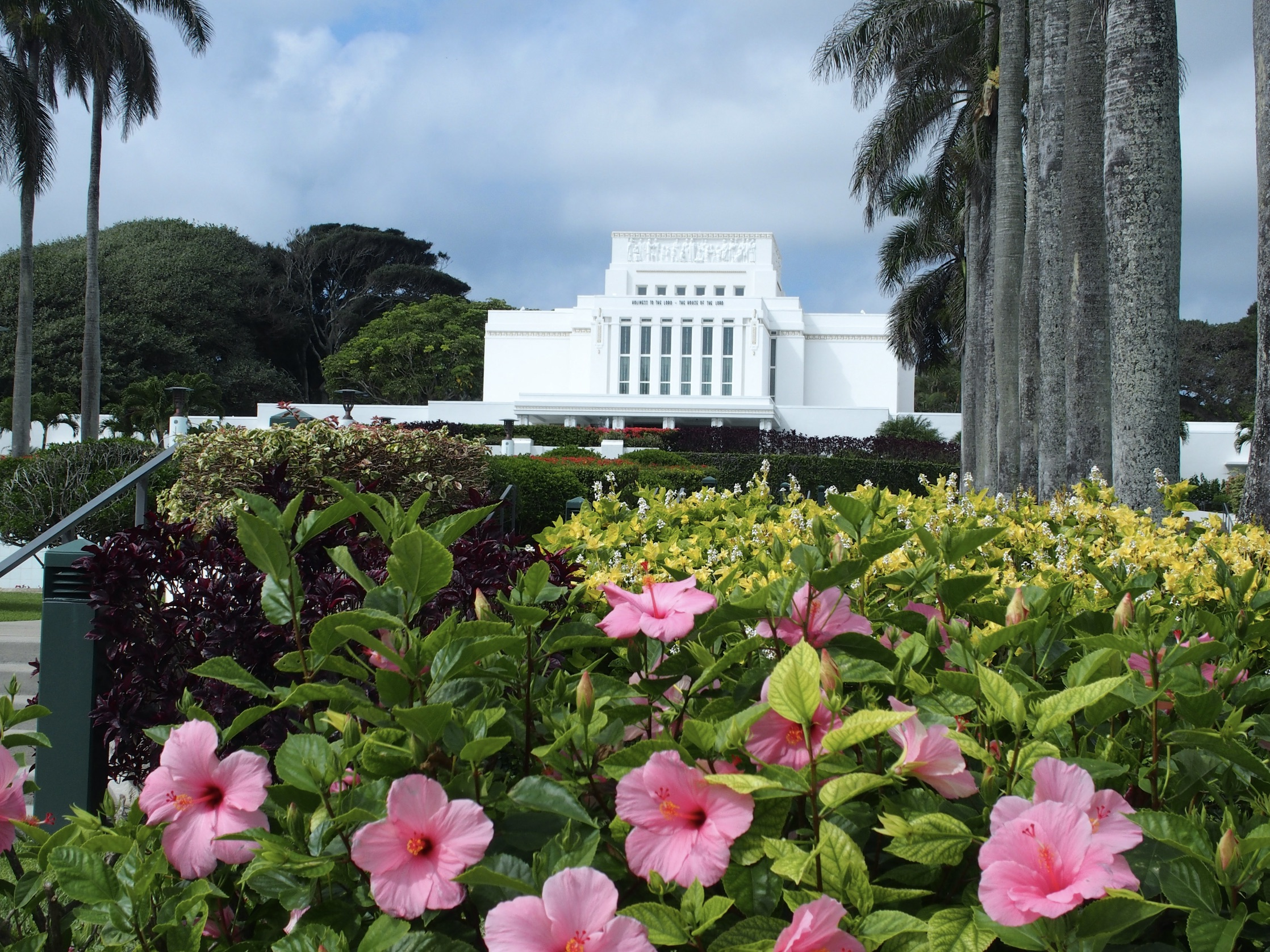 The Laie Hawaii Temple in 2016.