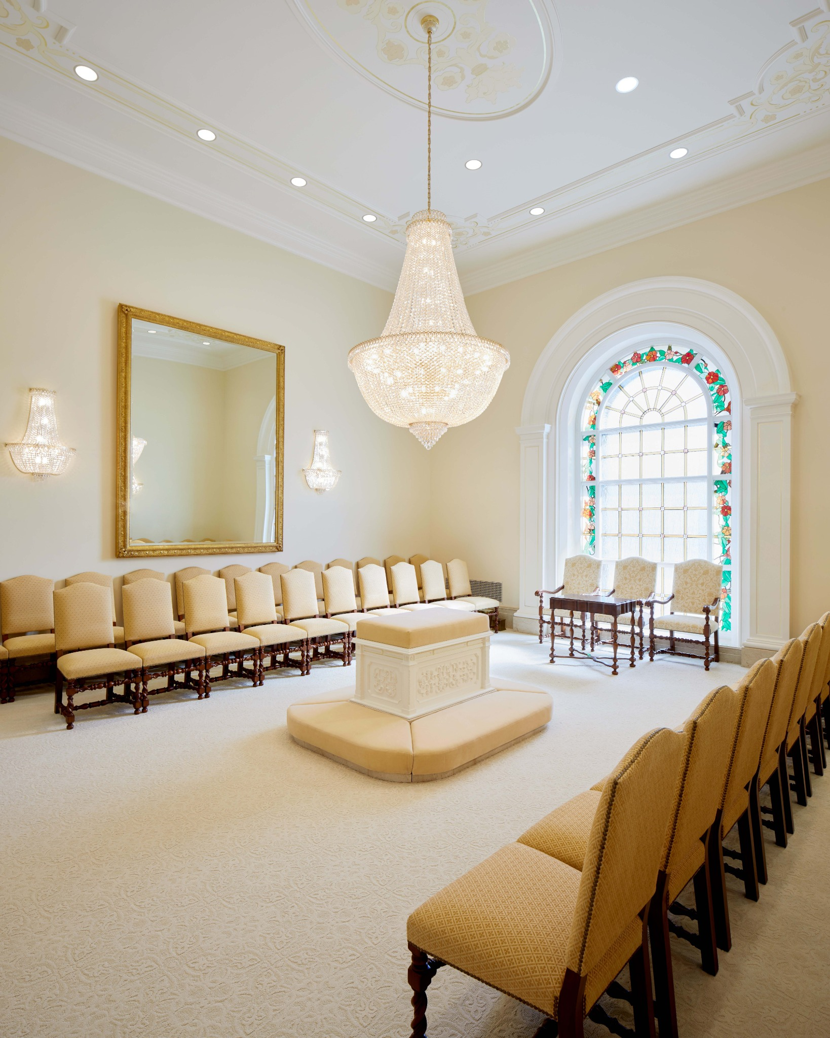 A sealing room in the Arequipa Peru Temple.