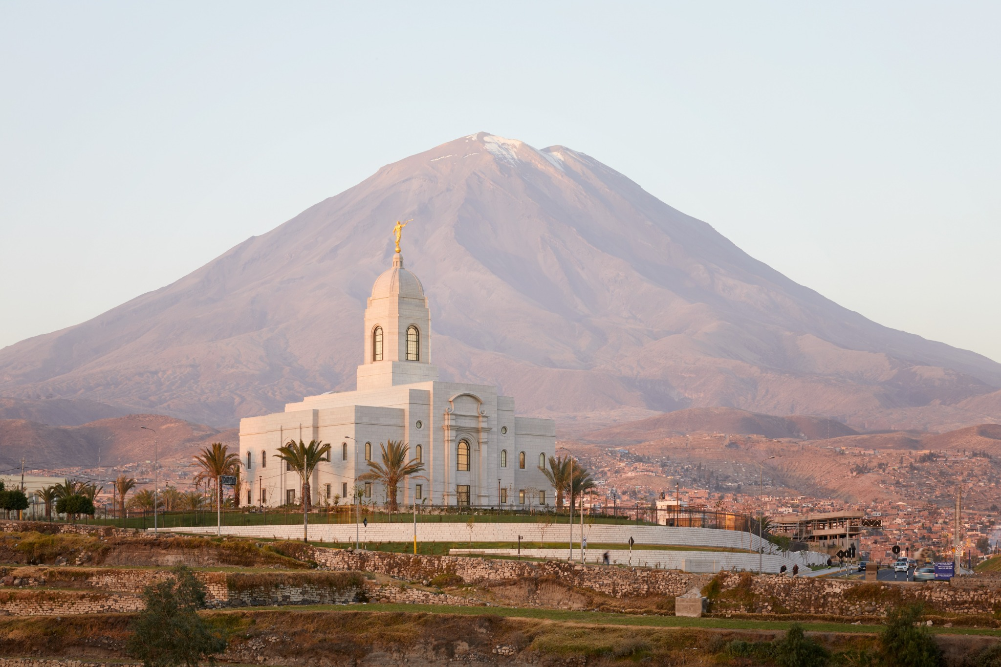 The Arequipa Peru Temple.