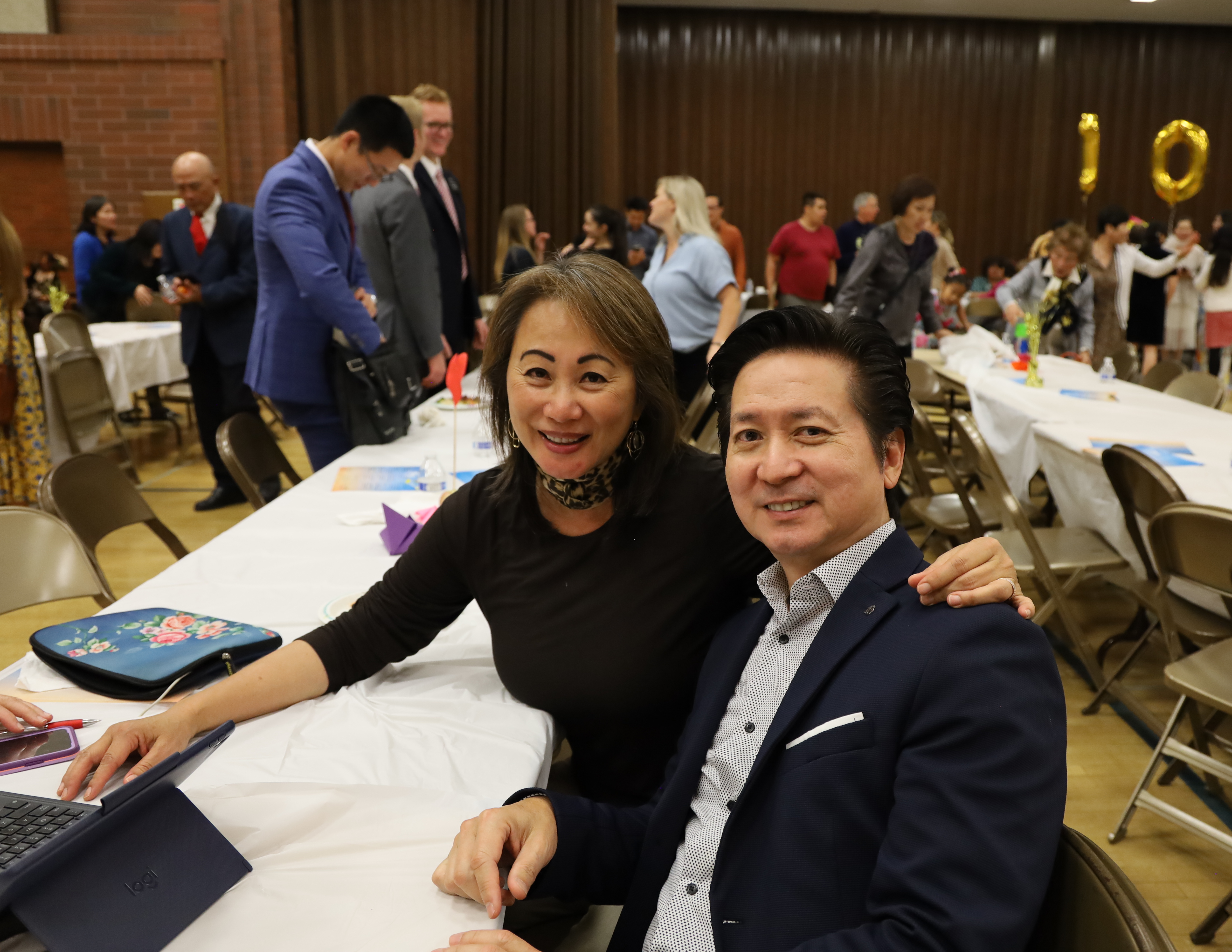 Stake Relief Society President Pat Lau and her husband Herald have witnessed the growth of Chinese membership in Southern California.