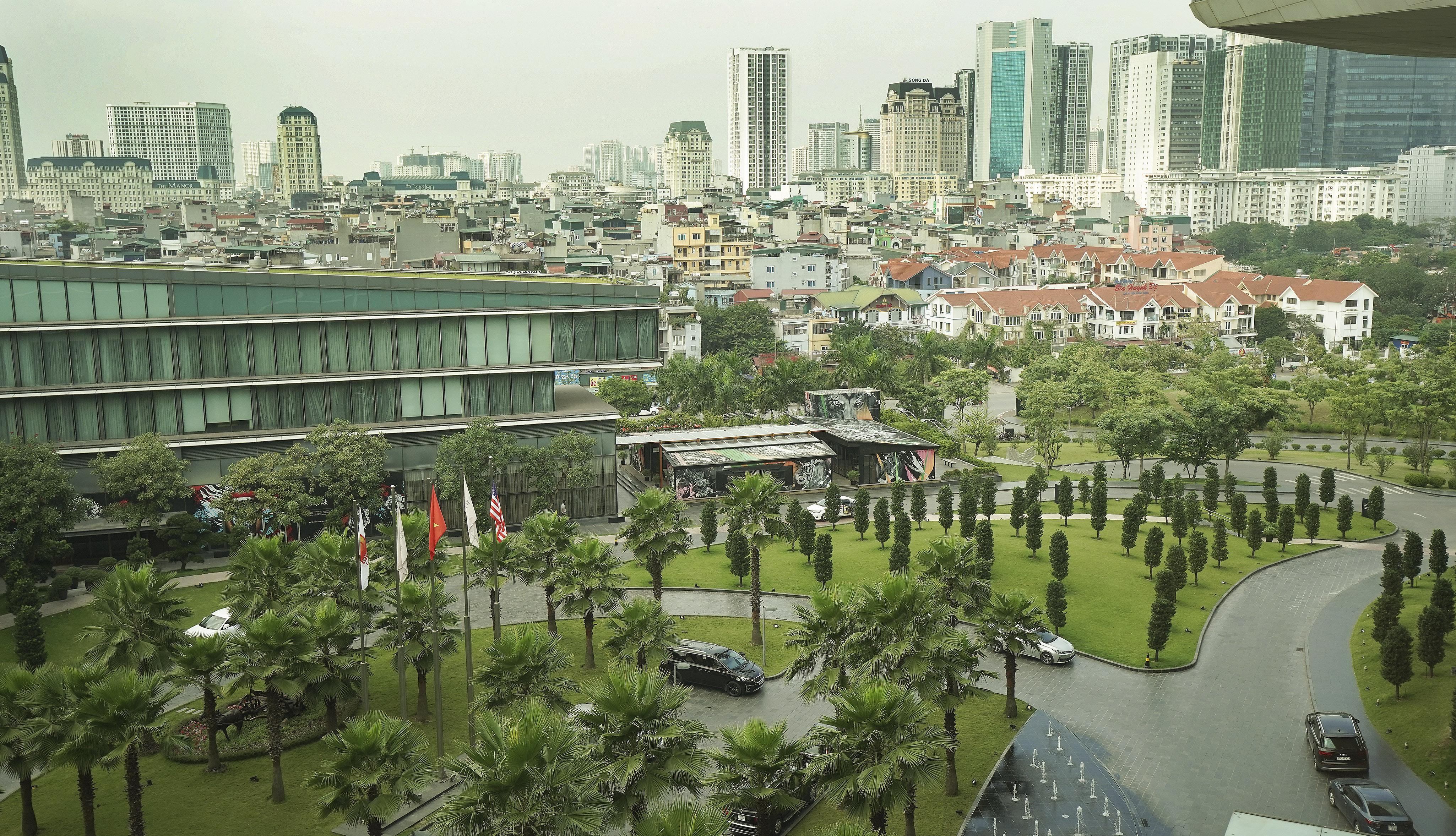 The skyline in Hanoi, Vietnam, on Sunday, Nov. 17, 2019.
