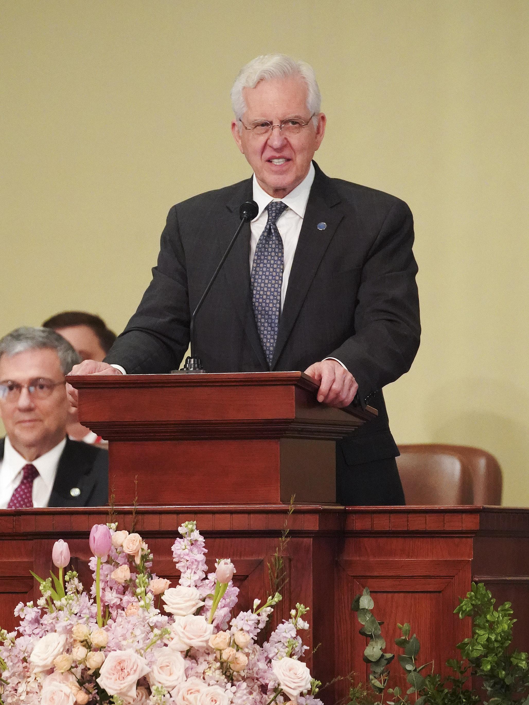 Elder D. Todd Christofferson of The Church of Jesus Christ of Latter-day Saints' Quorum of the Twelve Apostles speaks in Hanoi, Vietnam, on Sunday, Nov. 17, 2019.