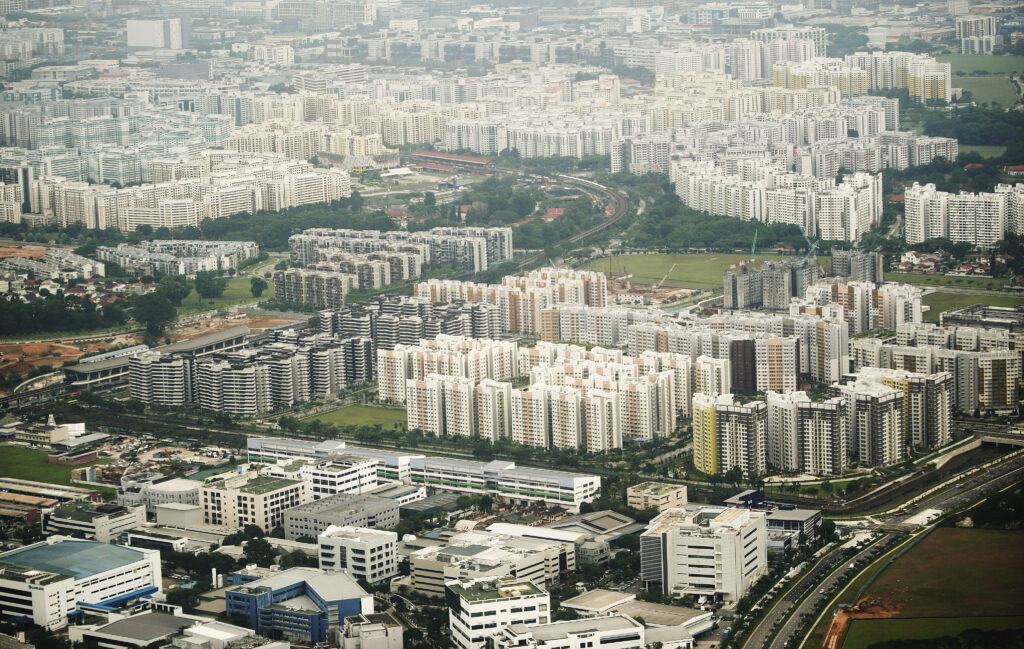 Numerous apartments in Singapore on Nov. 20, 2019.