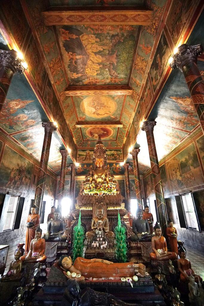 Wat Phnom, a Buddhist temple in Phnom Penh, Cambodia, on Tuesday, Nov. 19, 2019.