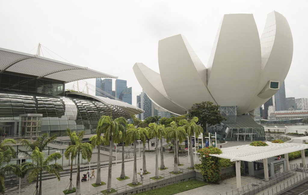 The Art Science Museum in Singapore on Nov. 20, 2019.