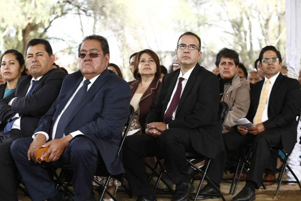 Latter-day Saints in Mexico gather for the groundbreaking of the Puebla Mexico Temple on Saturday, Nov. 30, 2019.