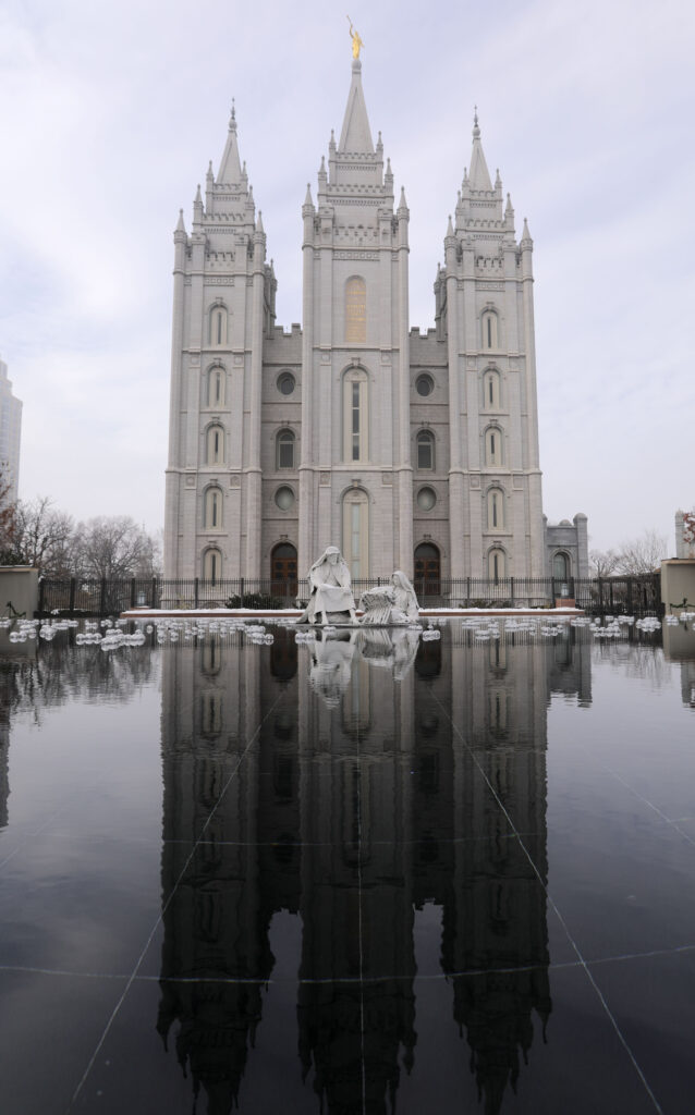 The Salt Lake Temple will close on Dec. 29 for extensive renovations. Photographed in Salt Lake City on Wednesday, Dec. 4, 2019.