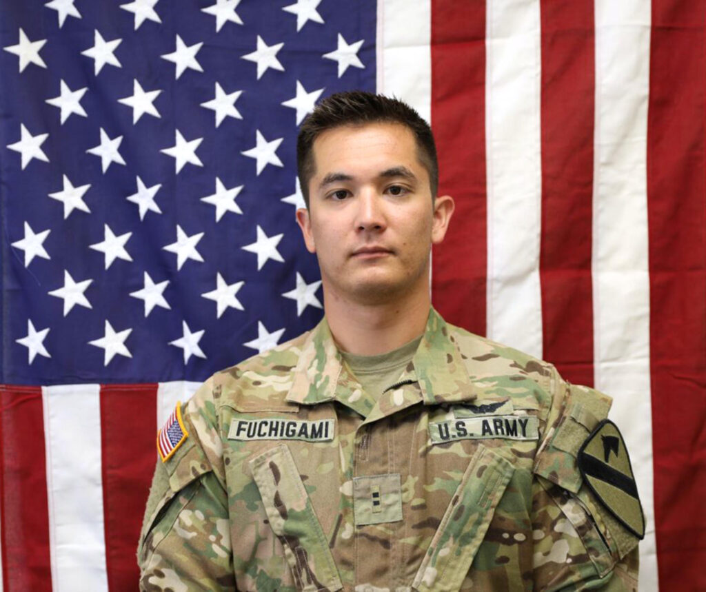 Chief Warrant Officer 2 Kirk T. Fuchigami died in Logar Province, Afghanistan, when his helicopter crashed while providing security for troops on the ground. He was assigned to 1st Battalion, 227th Aviation Regiment, 1st Air Cavalry Brigade, 1st Cavalry Division, at Fort Hood, Texas.