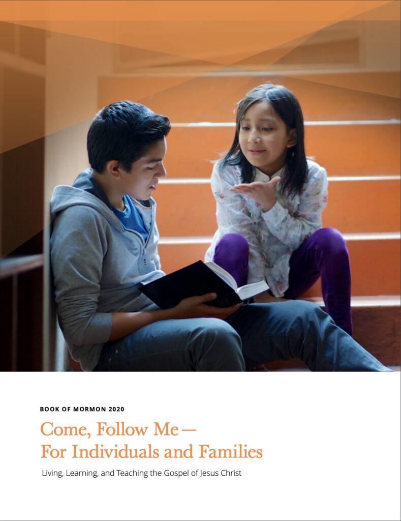 """La portada de """"Ven, sígueme: para individuos y familias: Libro de Mormón 2020""""."""