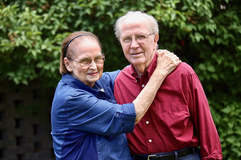 Picola and Elden Woods, who recently celebrated their 70th wedding anniversary, recall their decades of service to the Church that includes six full-time missions together.