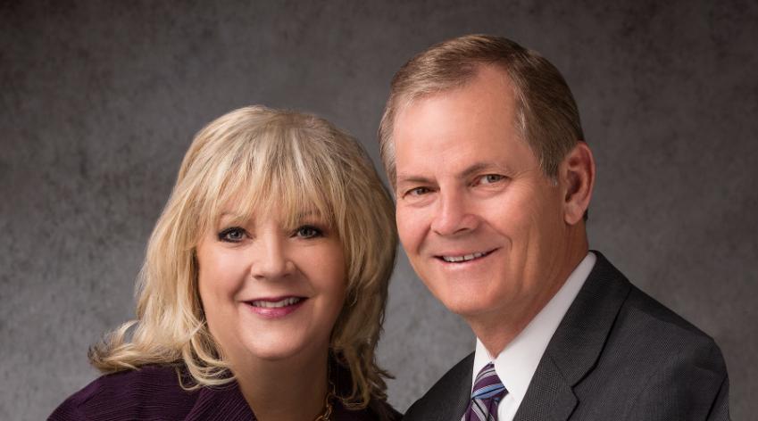 Elder Gary E. Stevenson and his wife, Sister Lesa Stevenson.