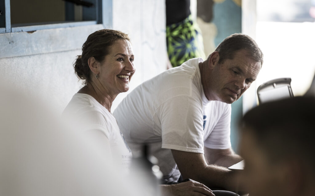Lori and Marv Allen have been involved in Rheumatic Relief since its inception in 2009. The couple, both former BYU athletes, utilize their professional training to help manage the program.