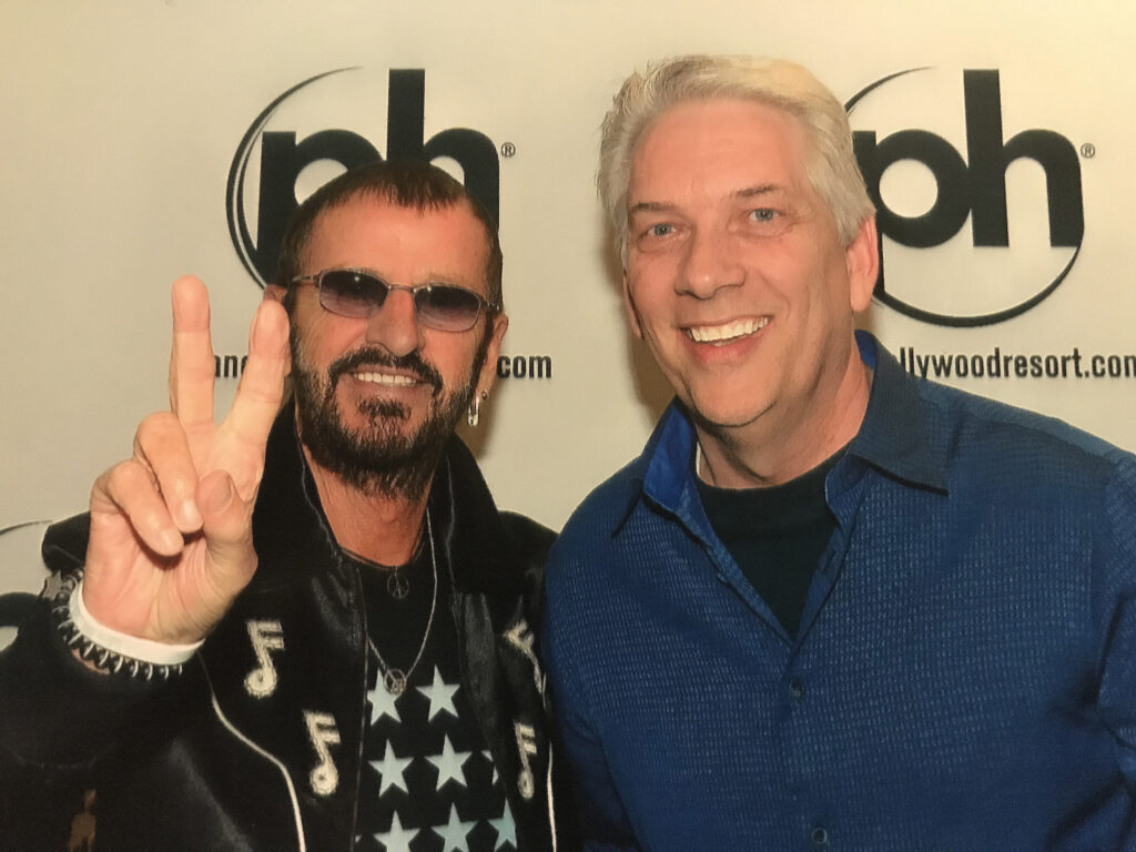 Kevin Guest was uplifted by the kindness shown to him by his drumming idol, Ringo Starr from the Beatles.