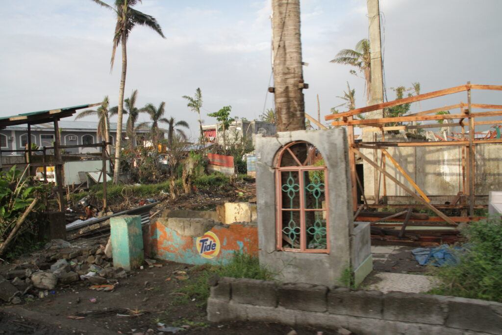 Tacloban and surrounding communities were devastated by Typhoon Haiyan, which left a path of destruction more than 100 miles wide through the central Philippines on Nov. 8, 2013.