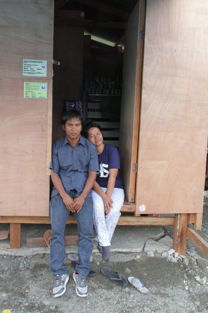 Gemmer Esperas and his wife, Analyn Esperas, lost their only child, 6-year-old Annammer, during Typhoon Haiyan.