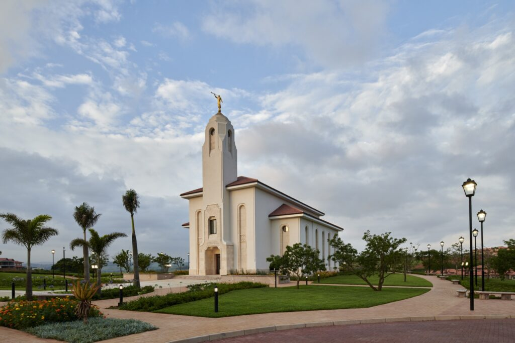 The Durban South Africa Temple.