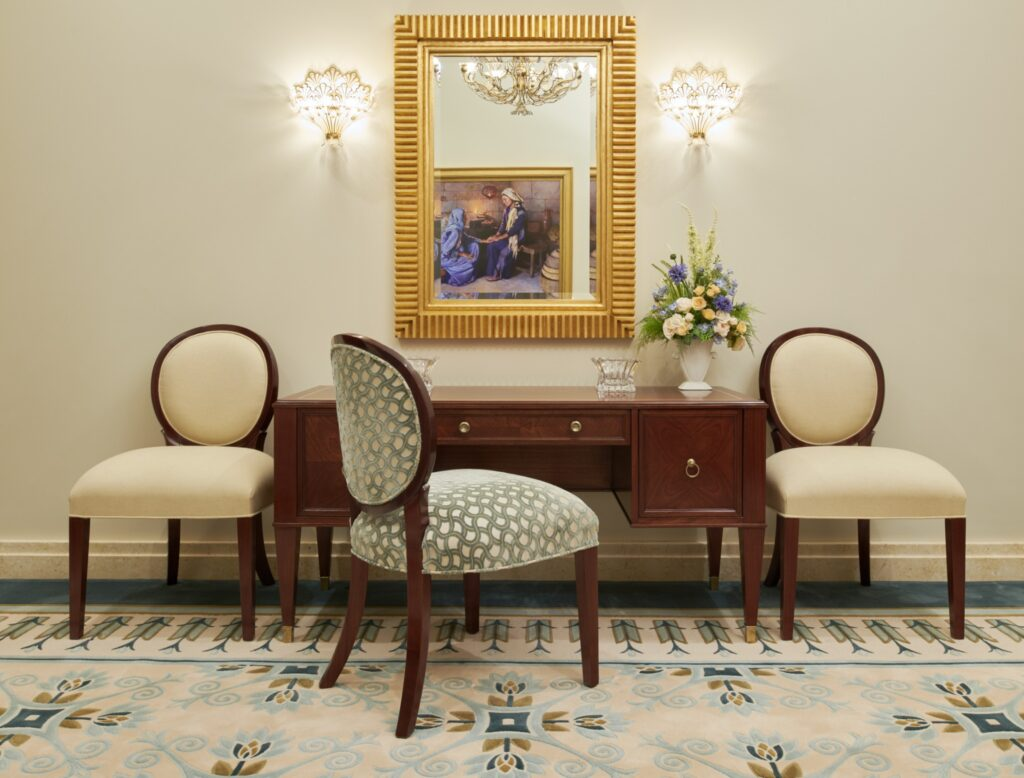 The bride's room in the Durban South Africa Temple.