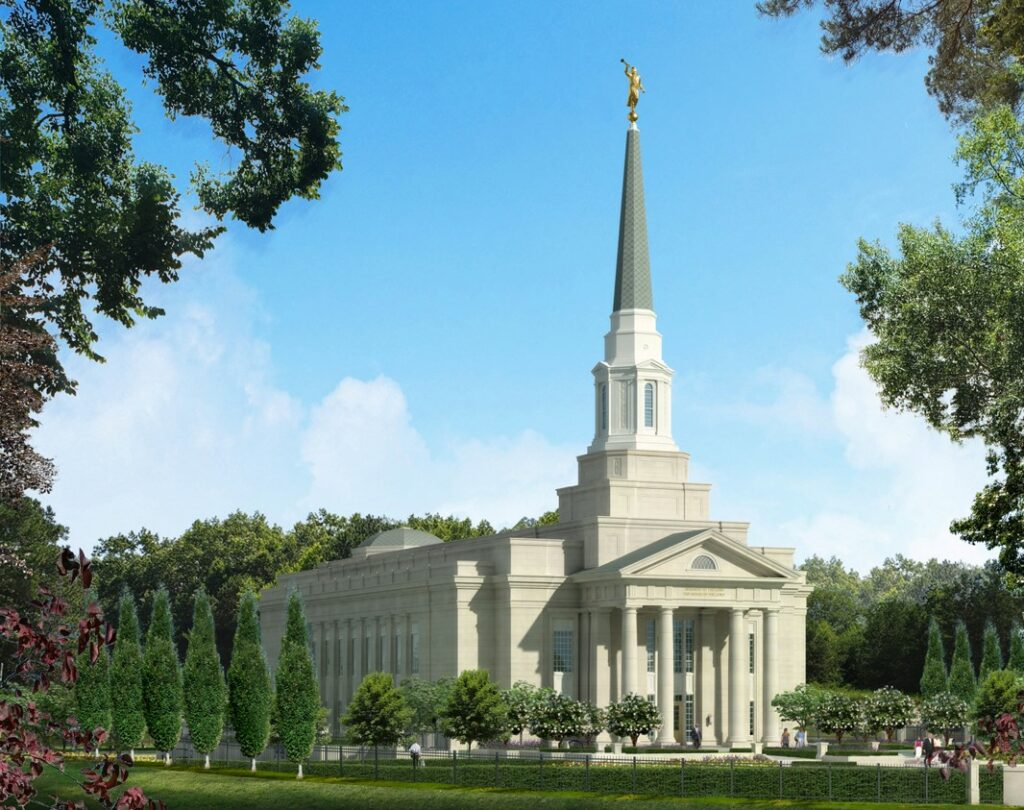Rendering of the Richmond Virginia Temple.
