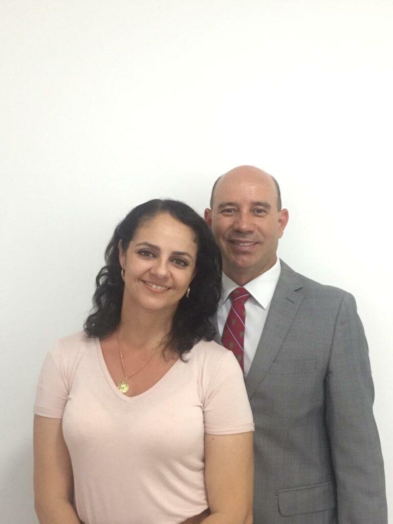 Arina and Leandro de Oliveira