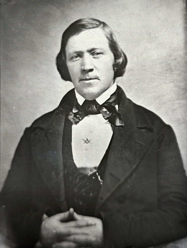 "A photo of Brigham Young, whose story is continued in the new ""Saints, Volume 2"" which will be released Feb. 12, 2020."